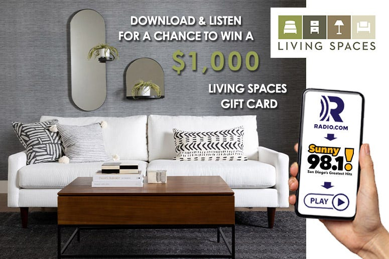 Living Spaces app contest KXSN