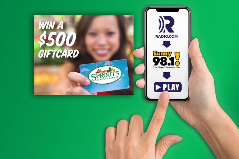 radio.com app sprouts