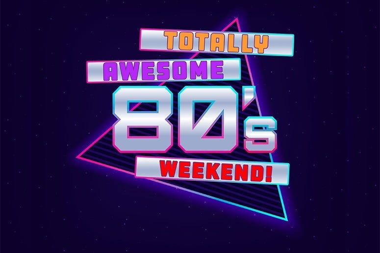 totally awesome 80's