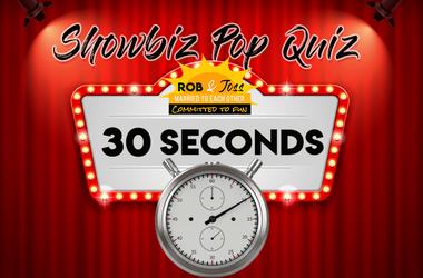 Showbiz Pop Quiz