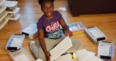 10-Year-Old Sends Art Kits to Kids Across Country as a Form of Therapy