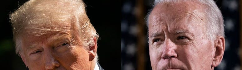 New Poll Shows Biden With 13 Point Lead Over Trump in PA