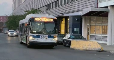 Caught on Video: Maskless Revelers Take Over Public Bus for Wild Pop-Up Party