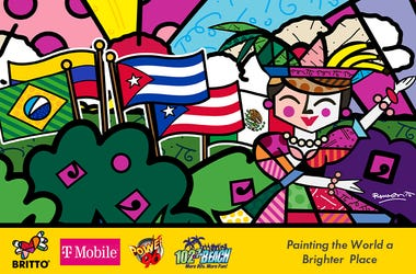 Hispanic Heritage with T-Mobile and BRITTO
