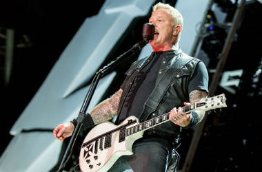 Metallica's James Hetfield