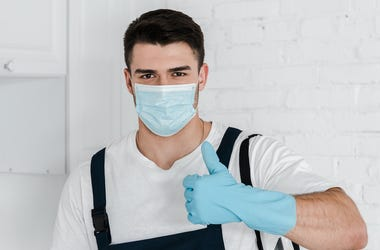 Pest Control Person
