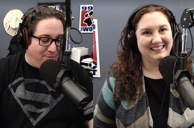 Nick and Kristen in the Morning, KWJJ, 99.5 The Wolf
