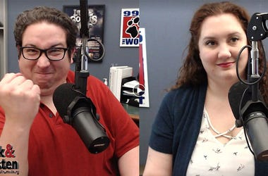 Nick and Kristen in the Morning, 99.5 The Wolf, KWJJ-FM