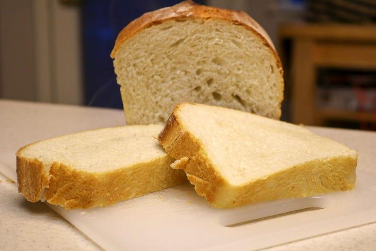 Baking Bread raw dough