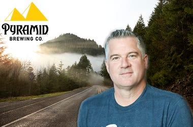 Tim Taylor, Pyramid Brewing company, 99.5 The Wolf, KWJJ-FM