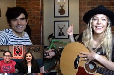 Mackenzie Porter, Women of New Country Quarantine, 99.5 The Wolf, Nick and Kristen in the Morning, KWJJ-FM