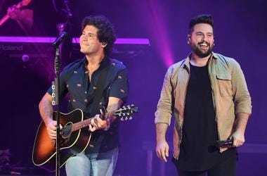 Recording artists Dan Smyers and Shay Mooney of Dan + Shay perform