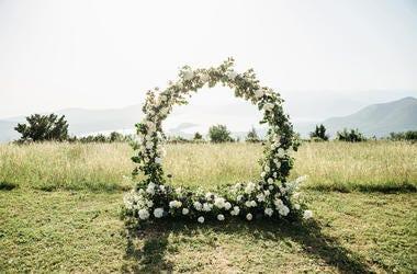 Wedding in Field