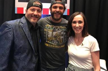 Thomas Rhett with Mo & StyckMan