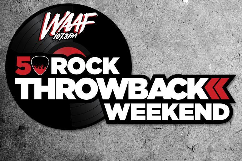 WAAF 50 Rock Throwback 775