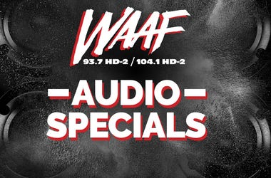 WAAF Audio Specials Updated