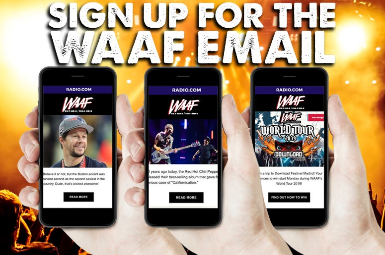 WAAF Email Image