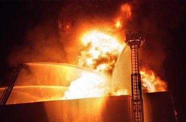 Worcester Cold Storage Fire