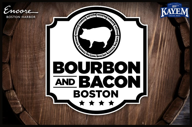 Bourbon & Bacon with Logos