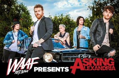 WAAF Presents Asking Alexandria