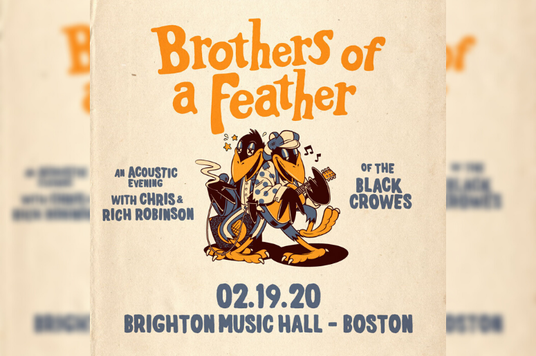 Brothers of a Feather concert poster