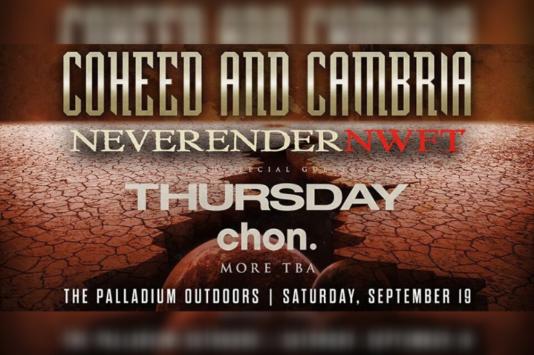 Coheed and Cambria at The Palladium Outdoors