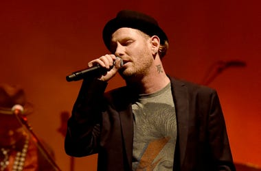 Corey Taylor performs at Celebrating David Bowie at the Wiltern Theatre on January 24, 2017