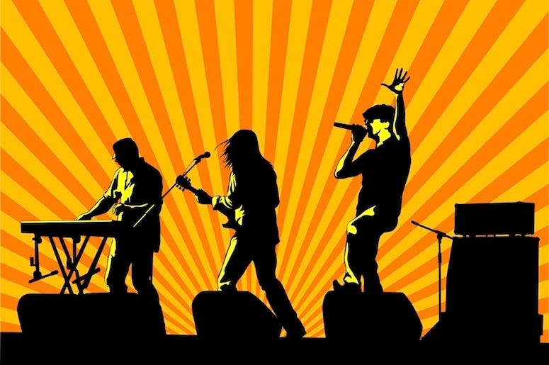 Rock Band Clip Art