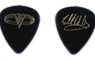 Eddie Van Halen guitar pick