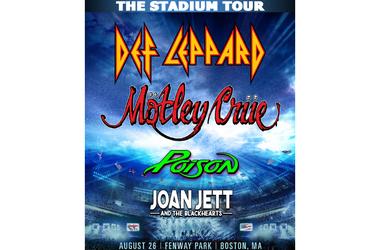 Mötley Crüe & Def Leppard at Fenway Park