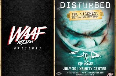 Disturbed Tour 2020