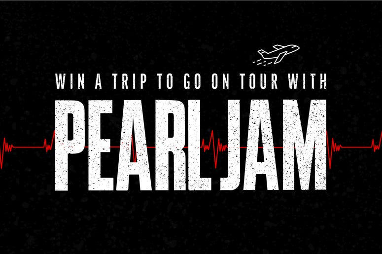 Go On Tour with Pearl Jam