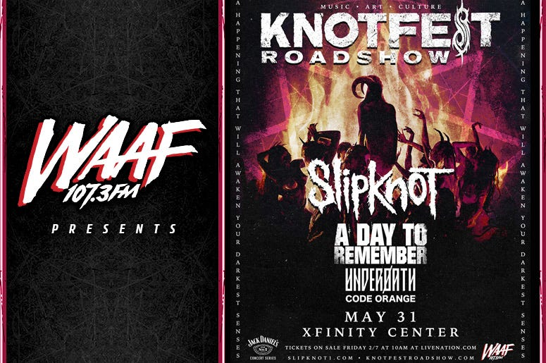 WAAF Presents Knotfest 2020