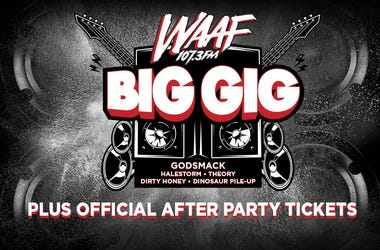 WAAF Big Gig and Official After Party Tickets
