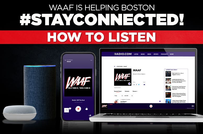 Stay Connected WAAF