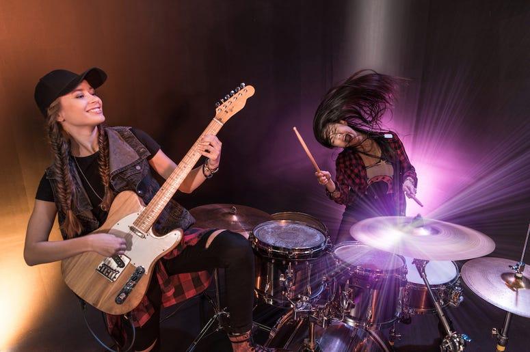 Girls Rock Band