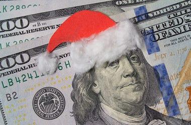 Money Gift Santa Hat