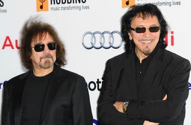 Geezer Butler and Tony Iommi of Black Sabbath