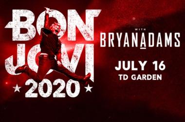 Bon Jovi at TD Garden 07.16.2020