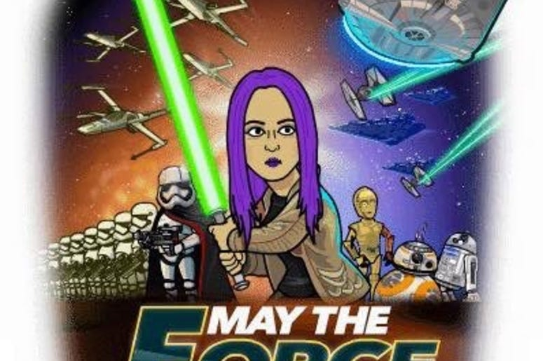 May the force be with Mistress Carrie