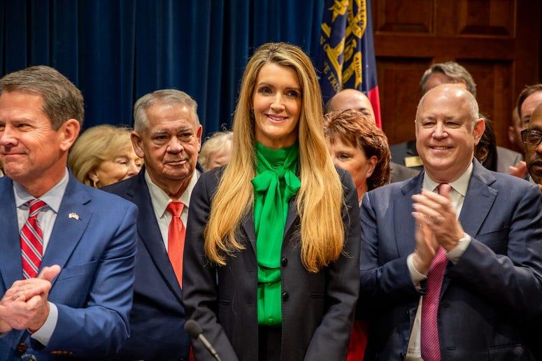 Kemp Appoints Loeffler to U.S. Senate-2