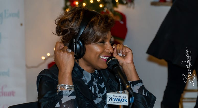 """Magical Holiday Monday"" with Tina Lifford, Aunt Vi of Queen Sugar and News and Talk 1380 WAOK/RADIO.COM-11"