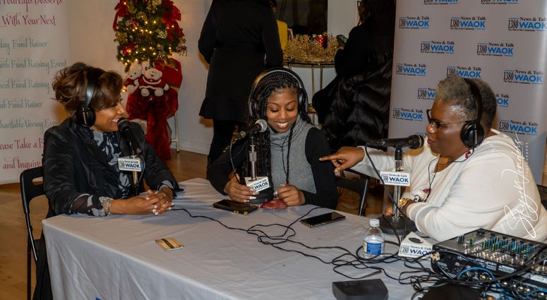 """Magical Holiday Monday"" with Tina Lifford, Aunt Vi of Queen Sugar and News and Talk 1380 WAOK/RADIO.COM-12"