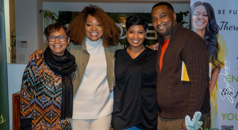 """Magical Holiday Monday"" with Tina Lifford, Aunt Vi of Queen Sugar and News and Talk 1380 WAOK/RADIO.COM-18"