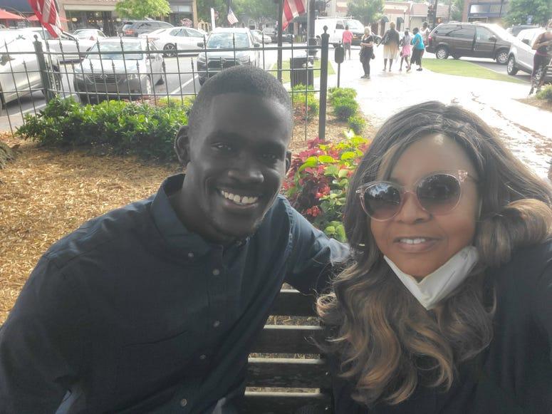 GA NAACP President James Woodall talks with Maria Boynton about the hate crimes bill