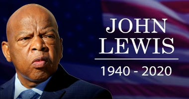 Troy University held a service in remembrance of Rep John Lewis Saturday morning