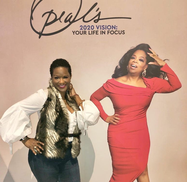 WAOK's Amanda Cooper at Oprah's 2020 Vision: Your Life in Focus Tour presented by WW
