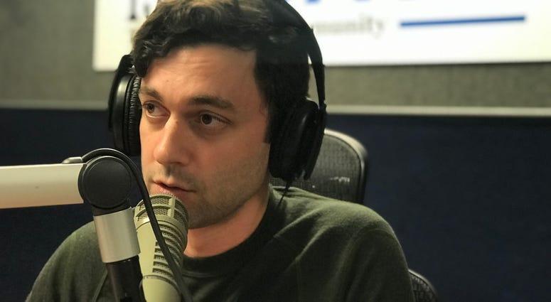 Jon Ossoff discusses Georgia Rising Rally with Rashad Richey