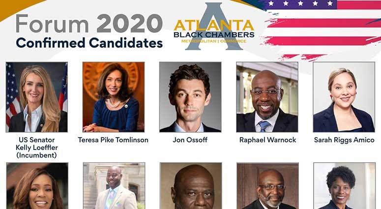 Confirmed 2020 Candidates Georgia U.S. Senate