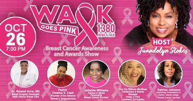 WAOK Goes Pink for Breast Cancer Awareness Month